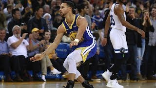 Stephen Curry 38 Points Fancy vs Timberwolves! 2018-19 NBA Season