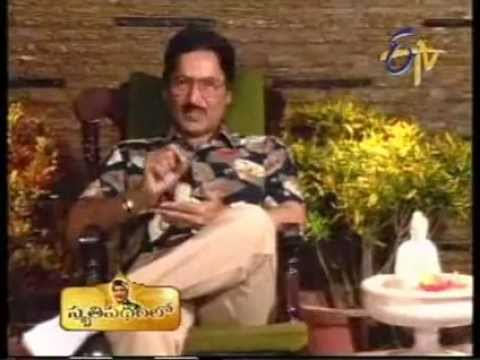 Telugu Actor Shoban babu philosophy in life part 1