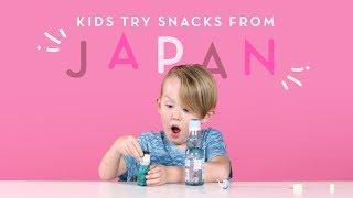 Kids Try Snacks from Japan | Kids Try | HiHo Kids