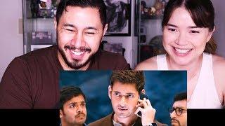 SPYDER | Mahesh Babu | A R Murugadoss | Trailer Reaction Discussion