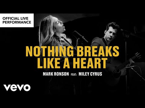 "Download Mark Ronson ft. Miley Cyrus - ""Nothing Breaks Like a Heart"" Official Performance 