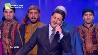 Arab Idol – العروض المباشرة – ملحم زين – يلي دينك من ديني