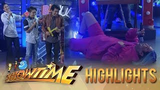 It's Showtime TrabaHula: Vice Ganda lies on the floor because of exhaustion