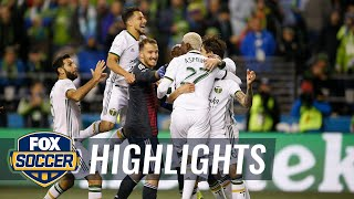 Watch penalty kick shootout between Seattle Sounders & Portland Timbers   Audi 2018 MLS Cup Playoffs
