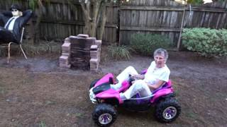 92 year old Nanny in the Dune Racer Dec 2016