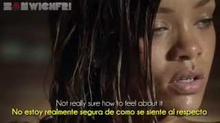 Stay ft Mikky Ekko - Rihanna Official Video) [Letra Español-English]
