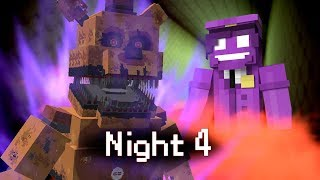 MINE Nights at Freddy's ORIGINS | Night 4 | Five Nights at Freddy's Minecraft Roleplay