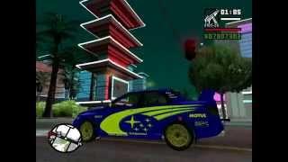 GTA SA   Mitsubishi Lancer - Tokyo Drift, Subaru Impreza - Rally, Subaru Impreza - Ken Block