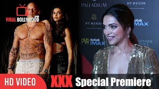 Deepika Padukone At Special Premiere Of XXX Return of Xander Cage | Viralbollywood