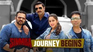 Simmba Journey Begins   Ranveer Singh   Sara Ali Khan   Rohit Shetty   December  28