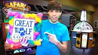 GREAT WOLF LODGE ARCADE CHALLENGE: GET 1,200 TICKETS TO WIN THIS PRIZE