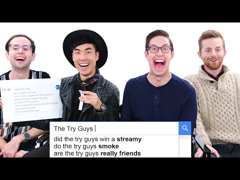 The Try Guys Answer the Web's Most Searched Questions | WIRED