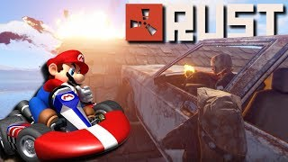 Rust Mario Kart with the NEW CARS!