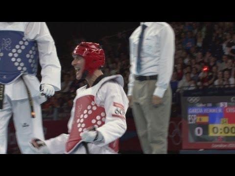 Men's Taekwondo -80kg Gold Medal Match - Spain v Argentina   London 2012 Olympics