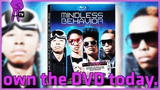 Mindless Behavior Sneak Peek DVD release of