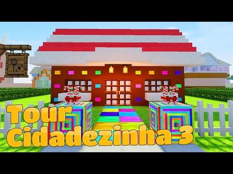 Minecraft Tour CASA DE DOCE BAILARINA CHÁ E OUTRAS