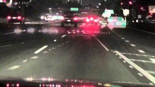 Road Debris / Tarp on Freeway