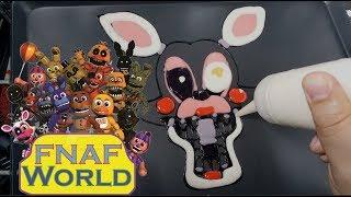 Pancake Art - Toy Foxy Mangle (Friday Nights at Freddy's)