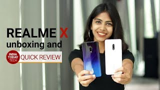 Realme X Unboxing & Quick Review: Features, Specs, Price in India