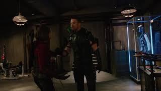 Arrow vs thiya(arrow sister)