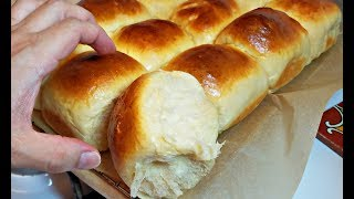 Soft and Chewy Dinner Rolls Recipe | How to make Fluffy Rolls