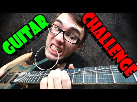 Play Until You Break A String! (GUITAR CHALLENGE) Video Clip