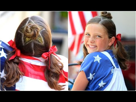 The Star Bun Combo | Cute Girls Hairstyles