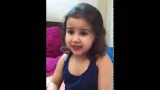 amazing 2.5 year old child girl very intelligent