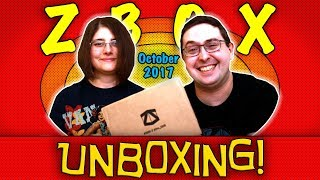 UNBOXING! ZBOX October 2017 - CHAOS - #DC #Hellboy