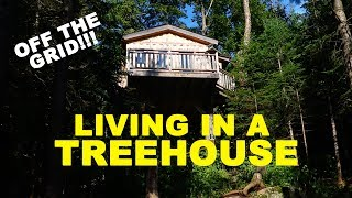 Living in a Remote Treehouse for a Night!