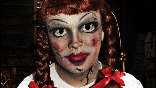 Annabelle Doll - The Conjuring - Makeup Tutorial!