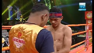 Saroeun Chan vs Watchharadeth(thai), Khmer Boxing My TV 21 July 2017, Kun Khmer vs Muay Thai