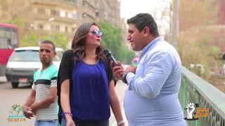 الفنانة بشرى تفاجئ أحمد رأفت في راديو الشارع | على الراديو9090