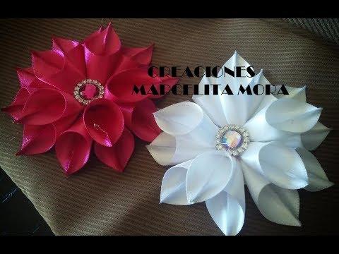Xxx Mp4 Flor En Picos Liston Satin Flor De Fita De Cetin Easy Flower Ribbon Satin 3gp Sex