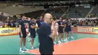 Polska - Włochy PŚ 2011, ostatnia piłka i kłótnia pod siatką, Poland-Italy WC 2011