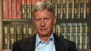 Gary Johnson talks immigration stance, Clinton Foundation