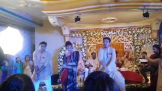 O bondhu lal & Borka pora meye- Shahid bhai holud