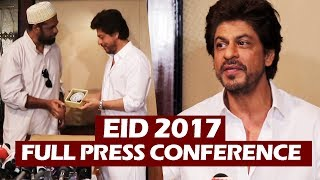 Shahrukh Khan's Press Conference | Full HD Video | Eid Celebration 2017 | Taj Lands End