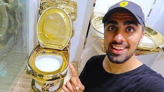 24 KARAT GOLD TOILET !!!