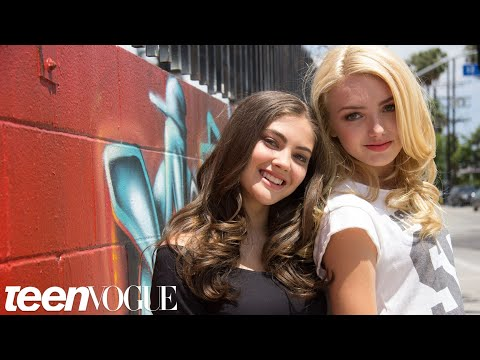 Xxx Mp4 Peyton List And BFF Kaylyn Hang Out At The Star S Home In Sunny L A – Besties – Teen Vogue 3gp Sex