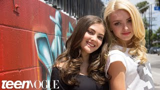Peyton List and BFF Kaylyn Hang out at the Star's Home in Sunny L.A. – Besties – Teen Vogue