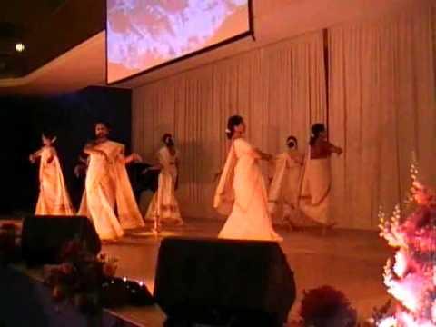 Onam Dance by Irrinki Lakshmi