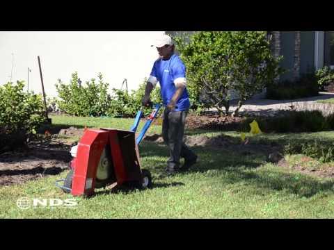 How do you install a Sub Surface Dripline Irrigation System