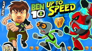 ALIENS INVADE FGTEEV!!  BEN 10: UP TO SPEED Cartoon Network Game w/ Duddy & Omnitrix (Ben 10 Reboot)