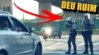 ACELERANDO NA FRENTE DA POLICIA