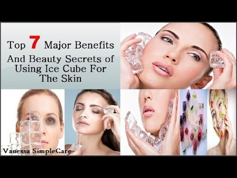 Top 7 Major Benefits And Beauty Secrets Of Using Ice Cubes For The Skin