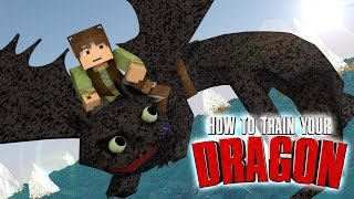 Minecraft | How To Train Your Dragon Ep 10!