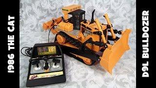 1986 CATERPILLAR THE CAT D9L Remote Control Bulldozer New Bright Industrial Co.Ltd.
