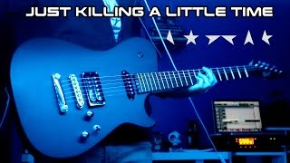 Killing A Little Time  David Bowie Guitar Cover