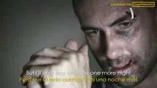 Maroon 5 - One More Night (Lyrics - Sub Español) Official Video - Adam Levine